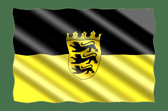 Baden-Württemberg-Fahne