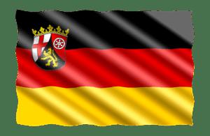 Rheinland-Pfalz-Fahne