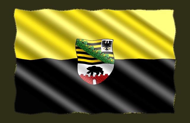 Sachsen-Anhalt-Fahne