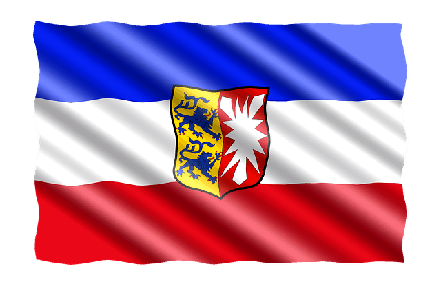 Schleswig-Holstein-Fahne