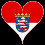 Hessenfahne-Herz