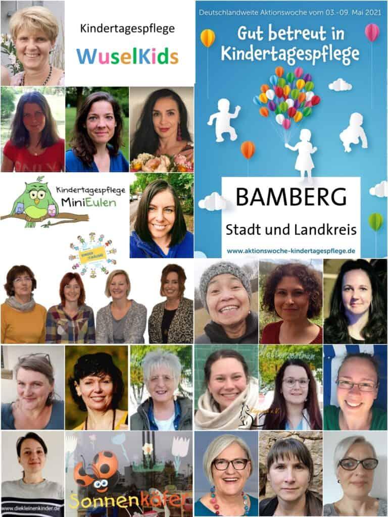 Collage zur Woche der Kindertagespflege