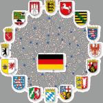 Bundesländer Regionen Symbolbild